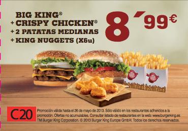 cupones descuento burger king
