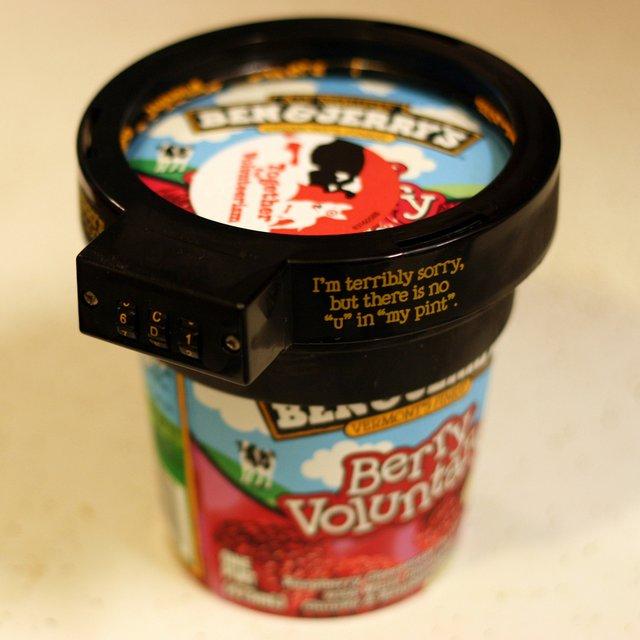 candado helado