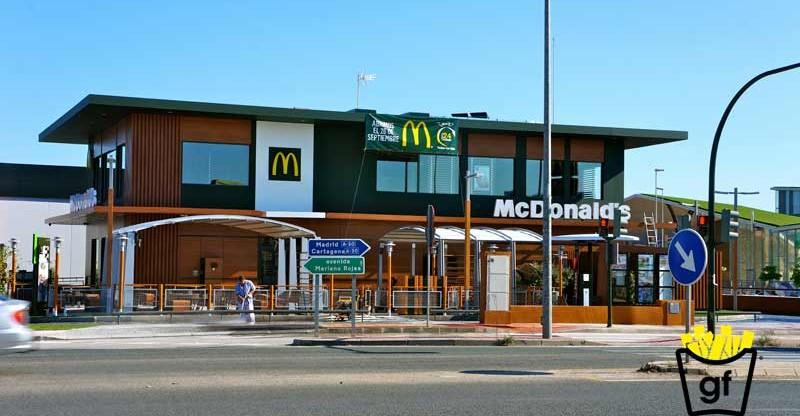 nuevo Mcdonalds en Murcia Mariano Rojas