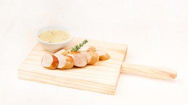bockwurst-mostaza