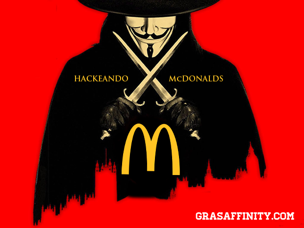 Hackeando McDonalds: Grasaffinity.com