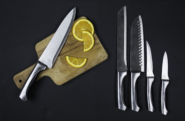 tipos de cuchillos y sus usos